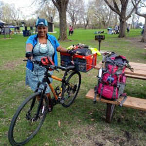Joyful Bike Campout with 30 Days of Biking 2019