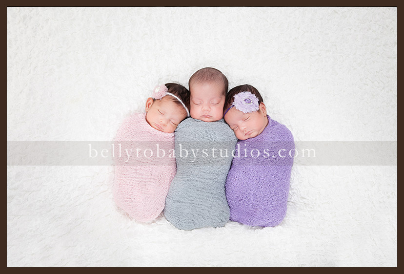 Houston Newborn photographer ~ Multiples