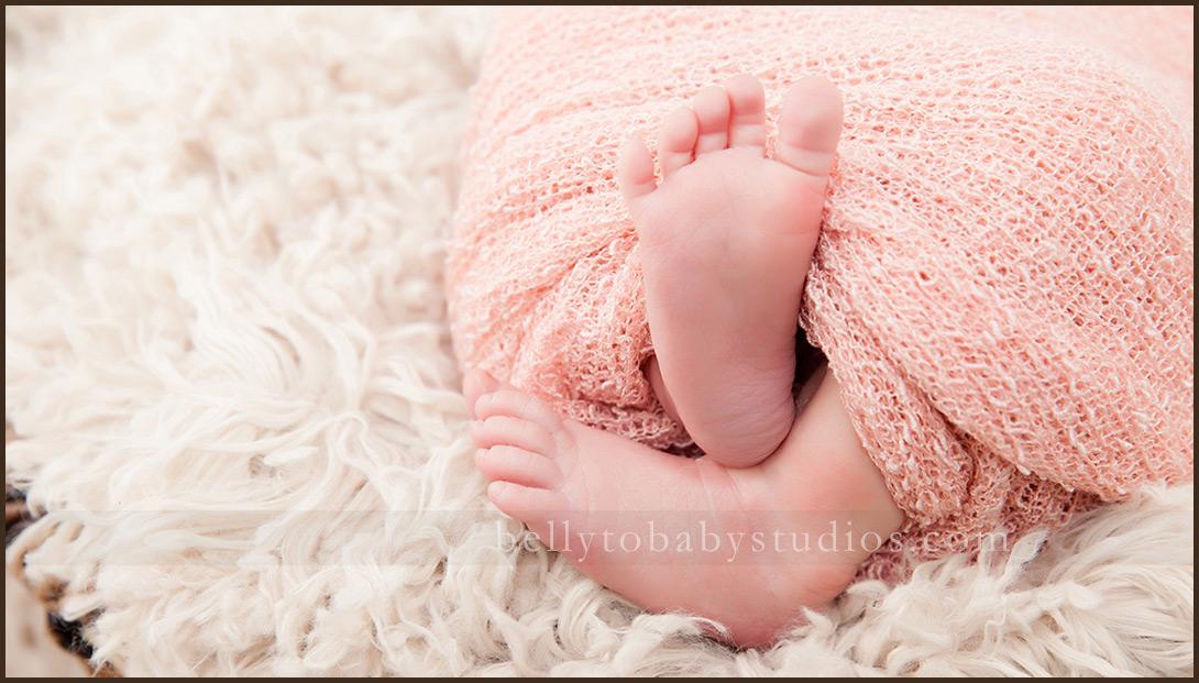Newborn portraits in Houston