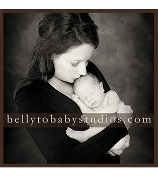 Mom & Baby's First Newborn Portraits