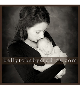 Mom & Baby's First Newborn Portraits