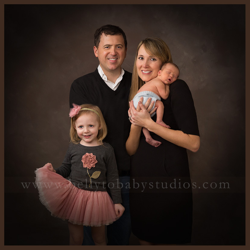 Houston Newborn Family Portrait Photography
