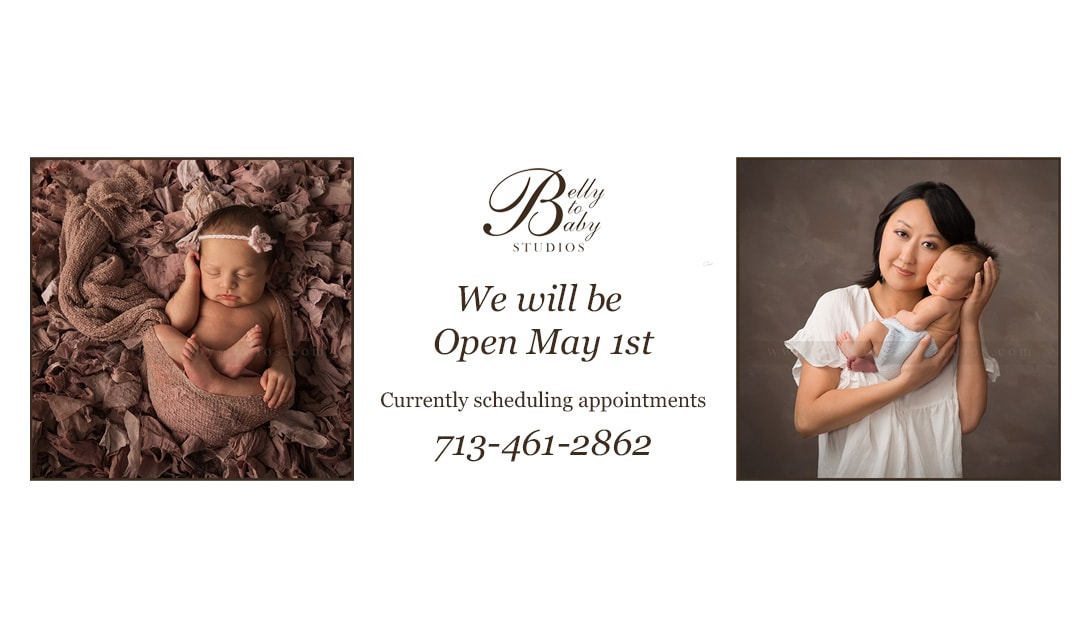 Houston Pregnancy and Newborn Family Photographer Open May 1st