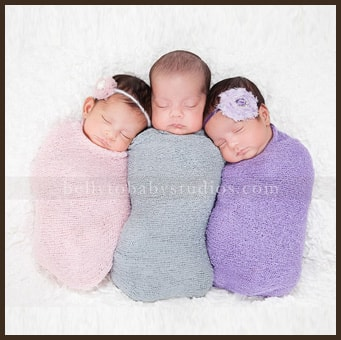Multiples Newborn Session
