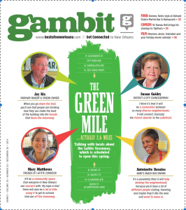 Gambit Cover Green mile