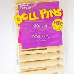 Doll Pins