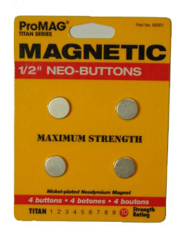 Neo Button Magnets