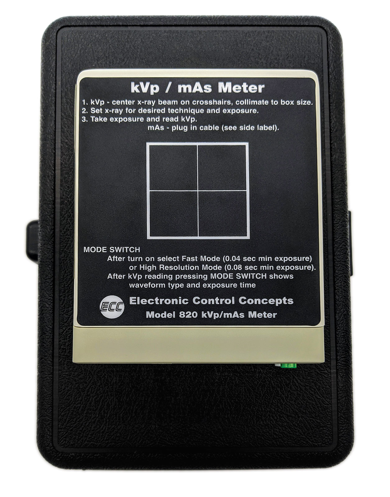 Kvp X-ray Meter /mAs Meter Model 820/820L