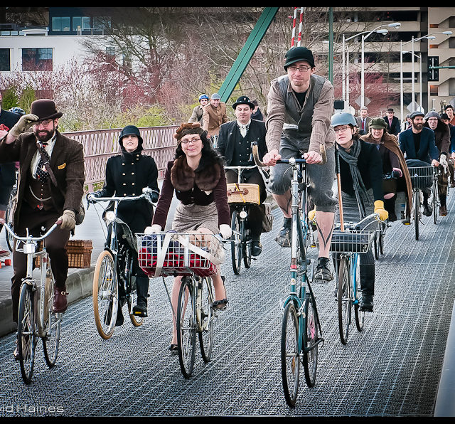 Tweed Bike Ride