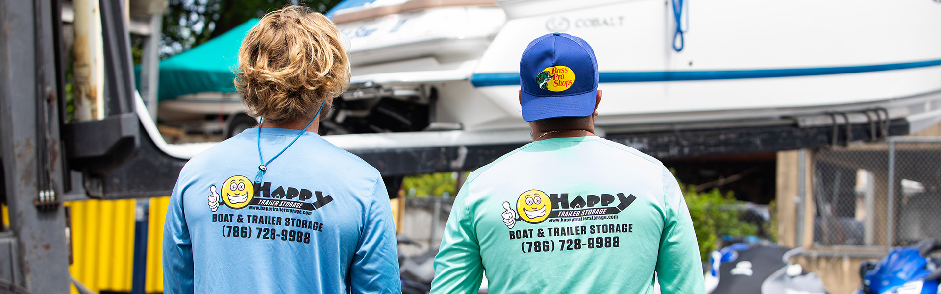 happy trailer storage miami boat storage facility