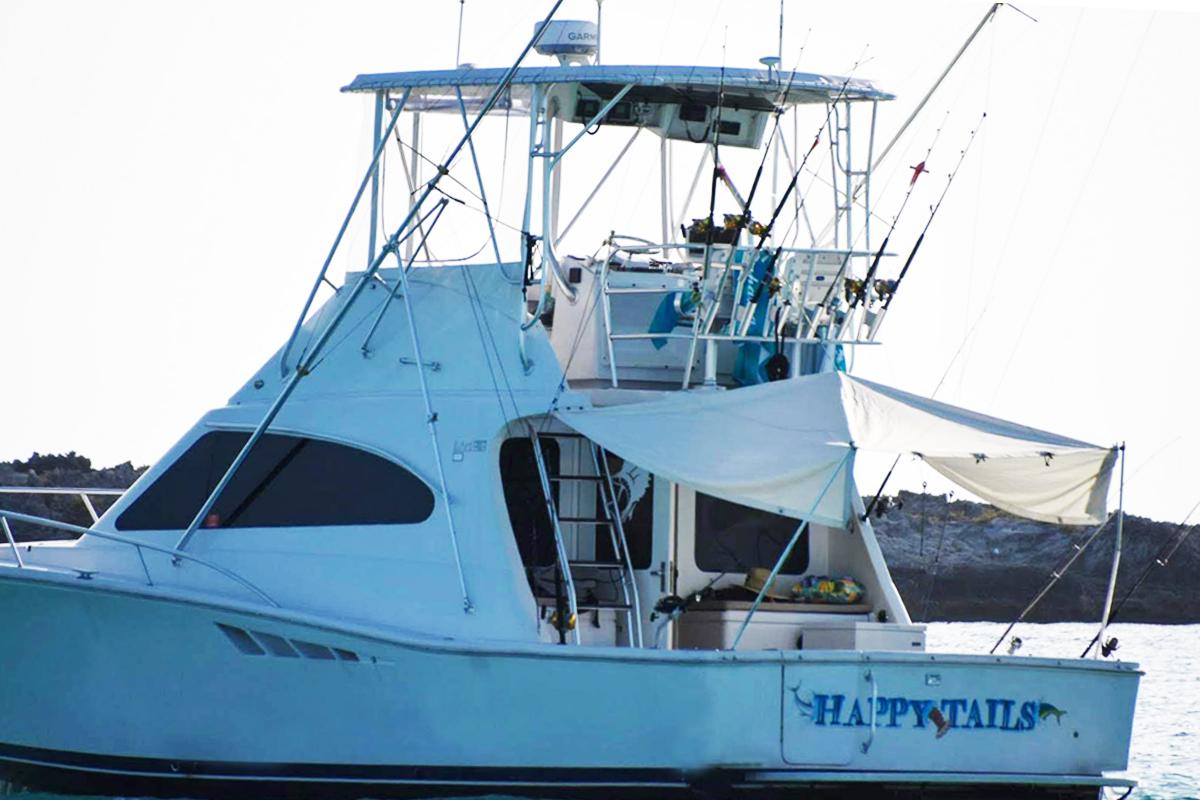 happy tails charter boat miami 2