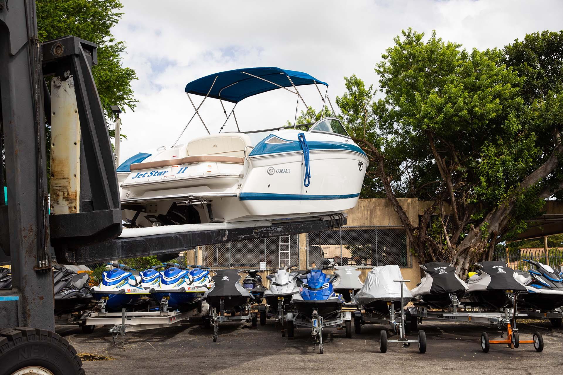 Happy Trailer Boat Storage Facility Miami 10