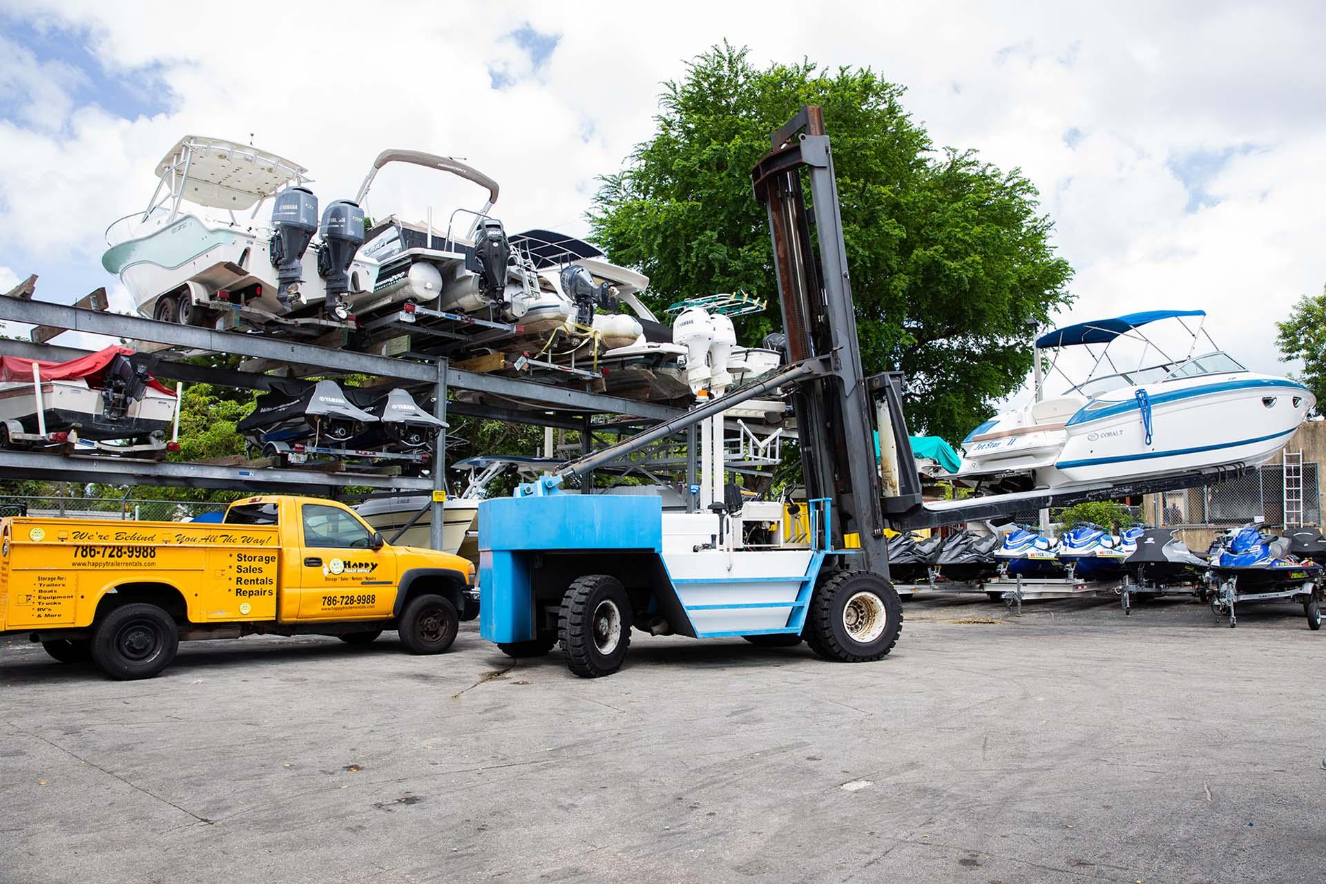 Happy Trailer Boat Storage Facility Miami 11
