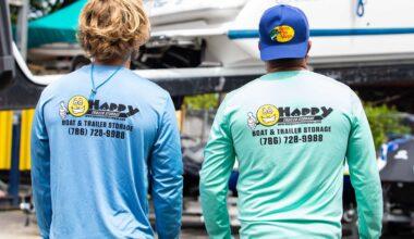 Happy Trailer Boat Storage Facility Miami 2