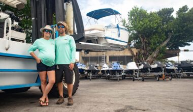 Happy Trailer Boat Storage Facility Miami