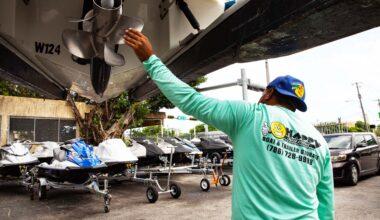 Happy Trailer Boat Storage Facility Miami 9