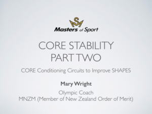 Core Stability Part 2