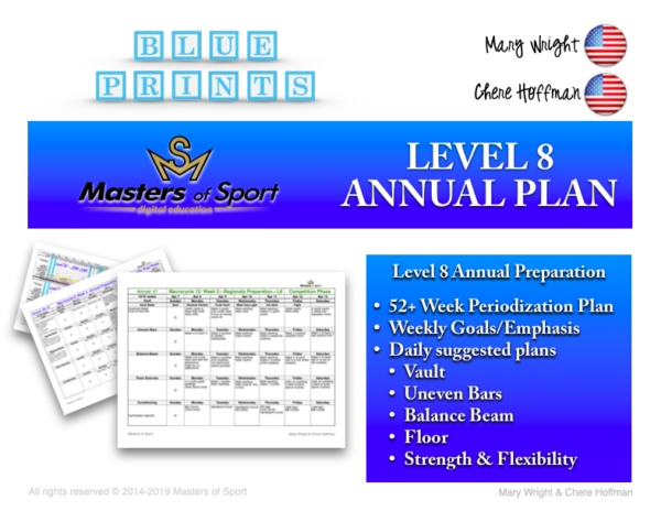 Level 8 Annual Plan