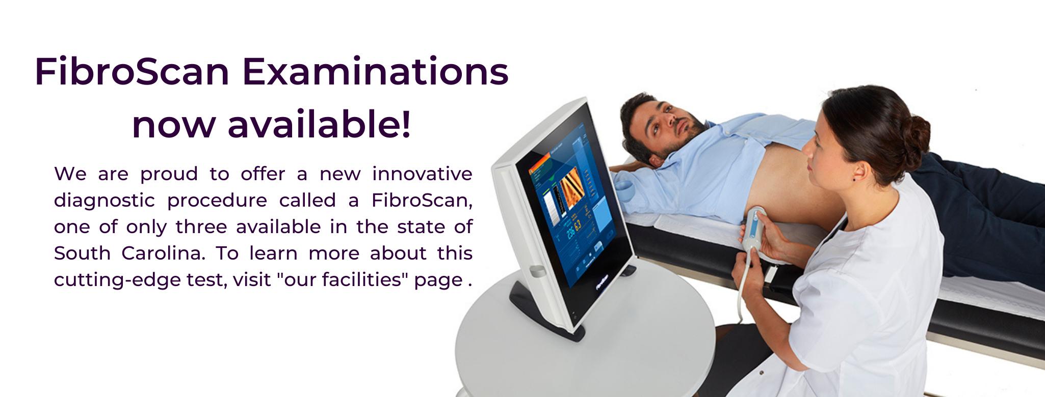 FibroScan Website header