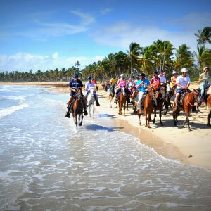 things to do in punta cana dominican republic horseback riding on the beach picture