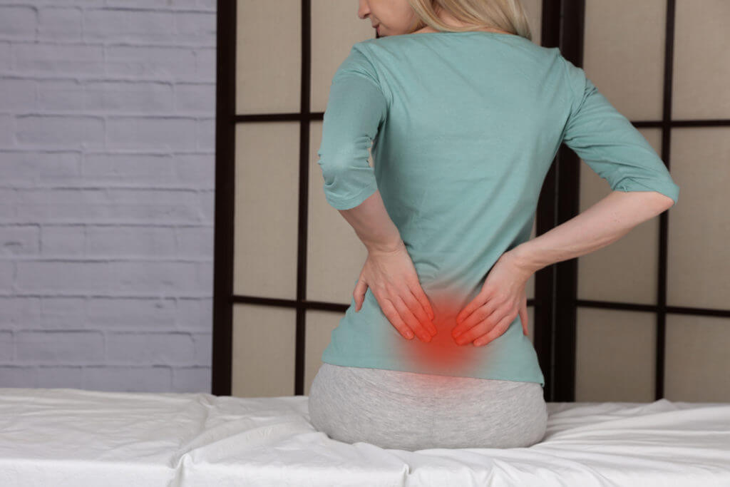 Serious lower back pain