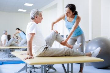 Physical therapy after hip replacement