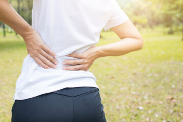 Lower back pain trouble walking