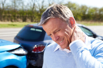 Untreated whiplash symptoms