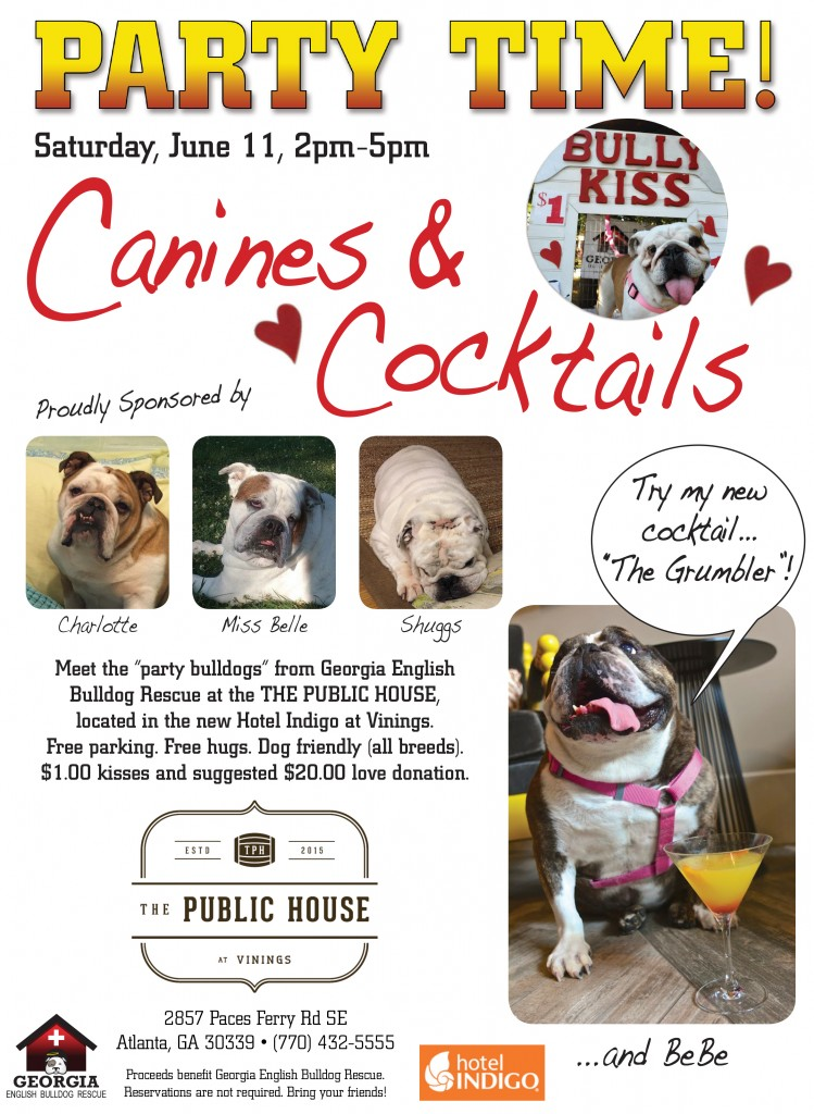 Canines and Cocktails