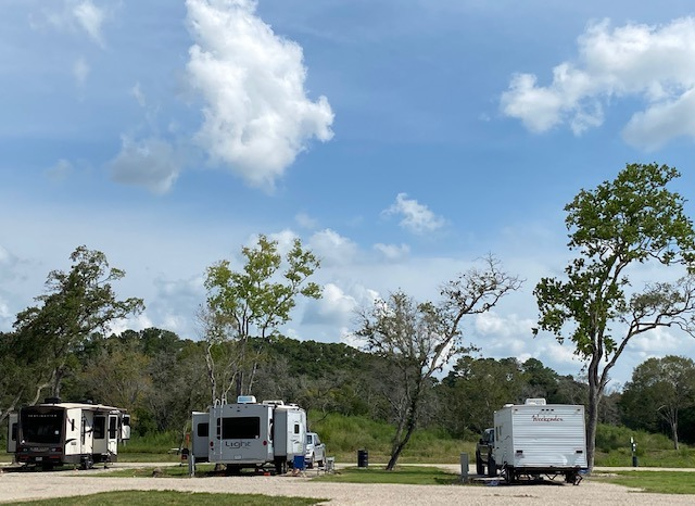 st. Ives RV Park near Houston for weekend getaway