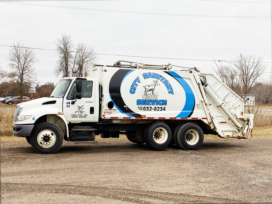 Commercial Garbage Truck Company Little Falls MN