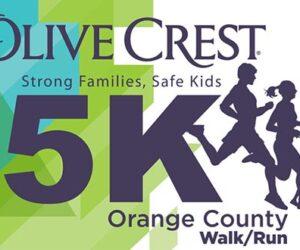 Olive Crest Strong Families, safe kids 5k orange county walk/run