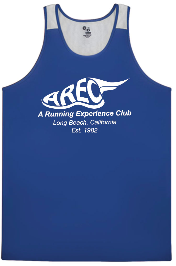 AREC Blue and White Singlet (pre-order)