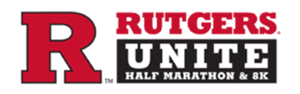 Rutgers Unite Half Marathon and 8k race logo