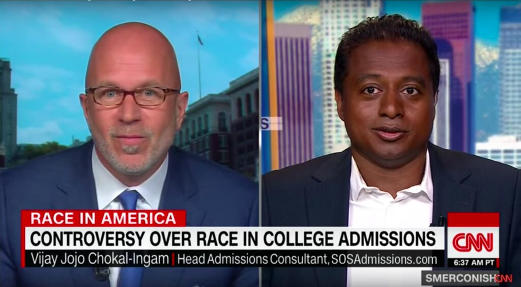 Admissions Consultant on CNN
