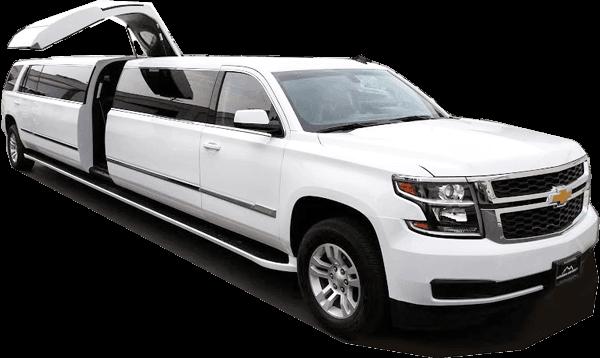 Chevy Suburban SUV Stretch Limo rental