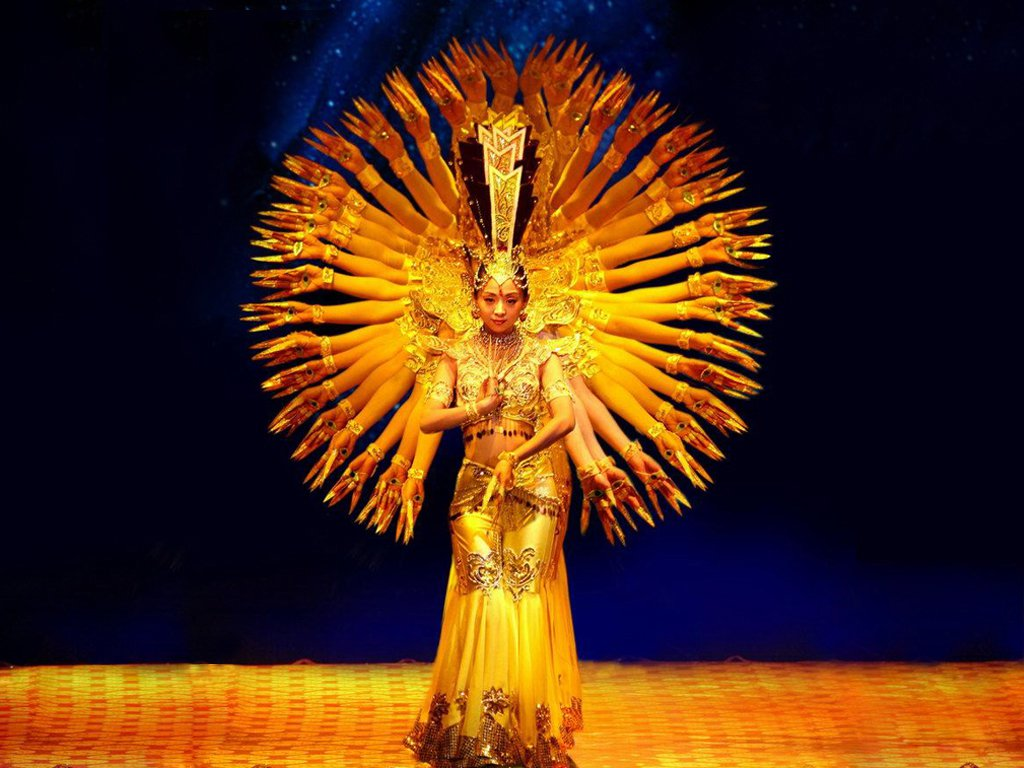 buddhist-goddess-guanyin-with-a-thousand-arms