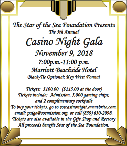 Casino Night Gala @ Marriott Beachside Hotel Marriott Beachside Hotel