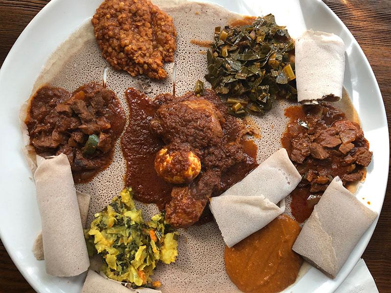 Main Eritrean Cuisine