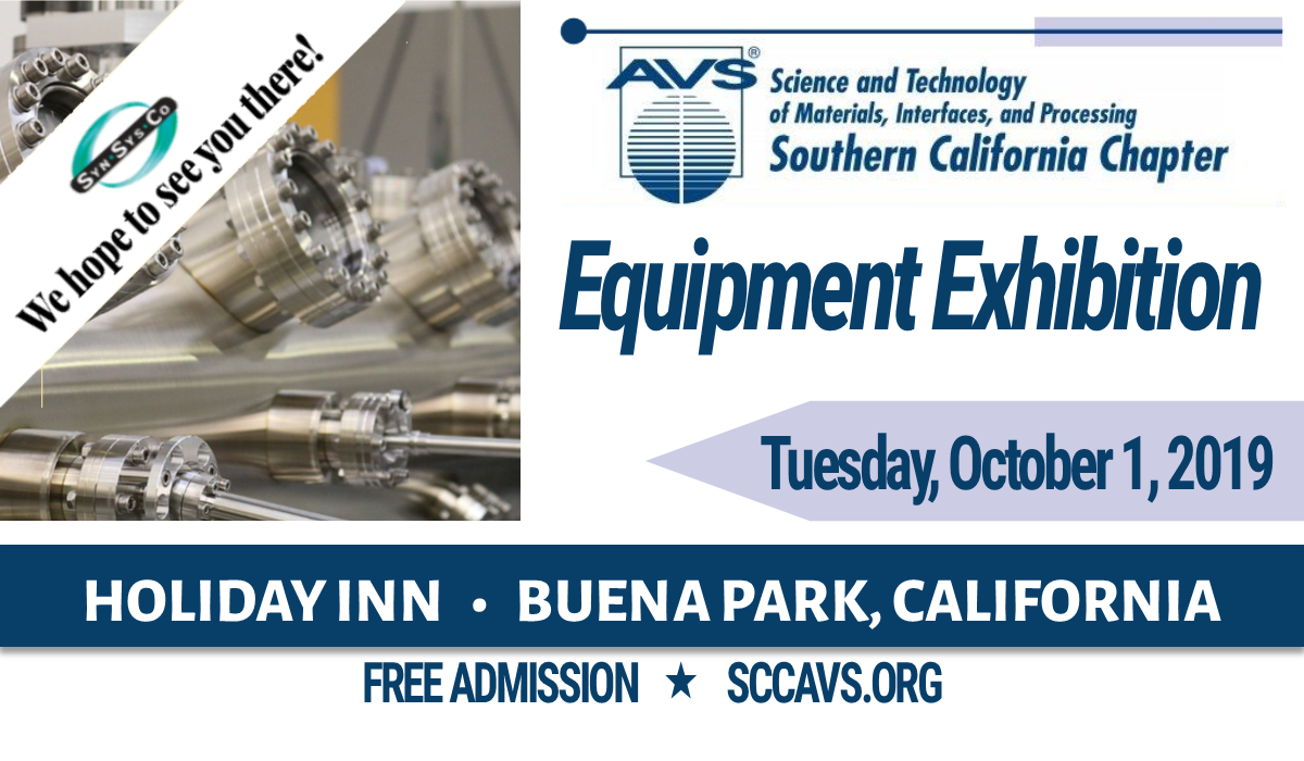 SCCAVS Equipment Exhibition | October 1, 2019