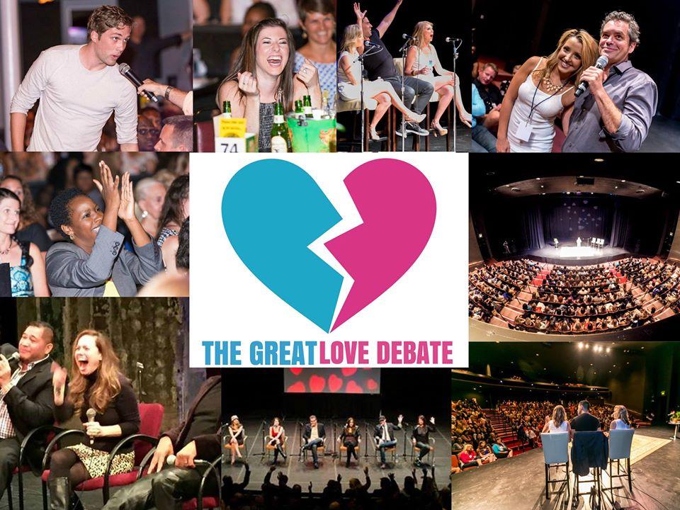 The Great Love Debate World Tour Returns To Boca Raton!