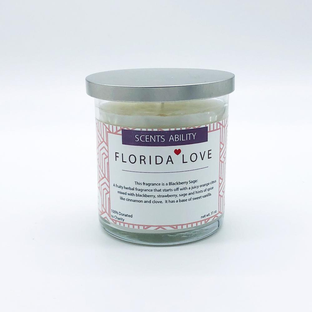 Florida Love Charity Candle