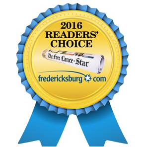 2016 Readers Choice Award for Ophthalmology Fredericksburg, VA