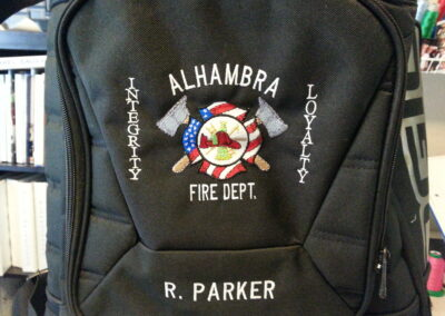 Alhambra Fire Department Custom Bag