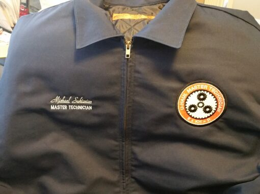 Master Mechanic Technician Jacket