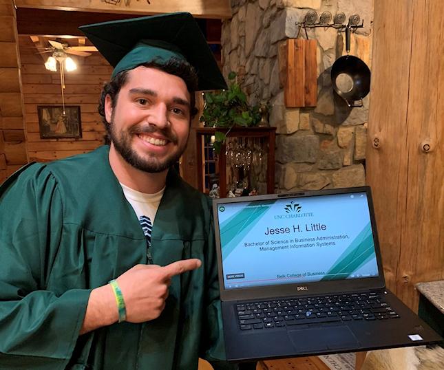 UNCC graduation