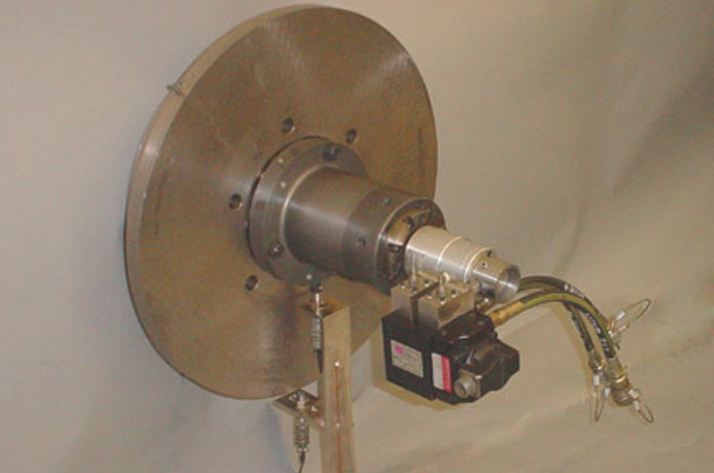 Continuous Rotating Torsional Exciter Head