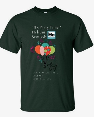 """Image of the """"Meet the Elements: Helium"""" T-Shirt"""