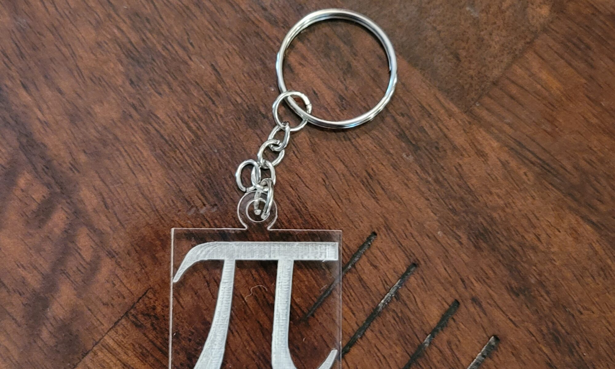 "Image of ""Pi"" Keychain"