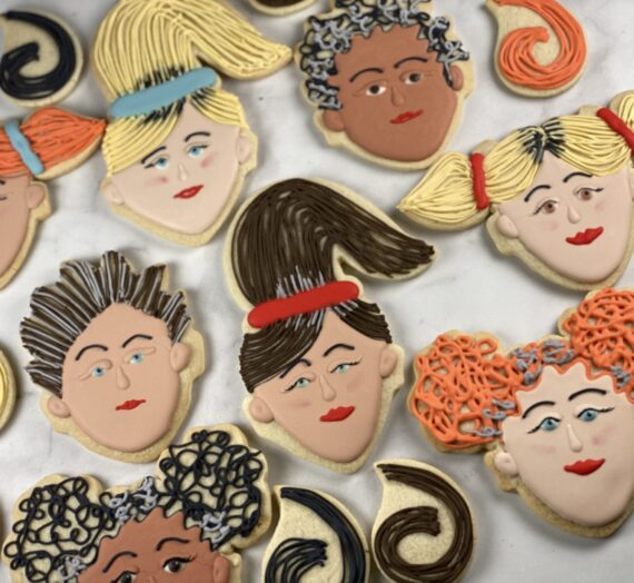 Quarantine Hair Cookies